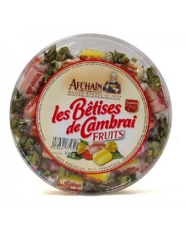 Tambourin de Bêtises de Cambrai aux fruits 300g