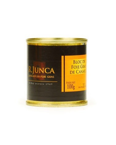 Bloc de foie gras de canard 100g CDM