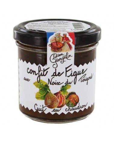 Confit de figues aux noix du Périgord