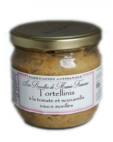 Tortellinis à la tomate et mozzarella sauce morilles 300g