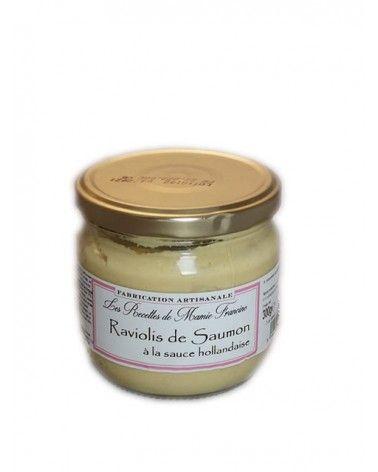 Raviolis de Saumon à la sauce hollandaise 300g