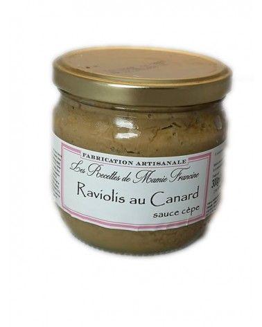 Raviolis au Canard sauce cèpe 300g