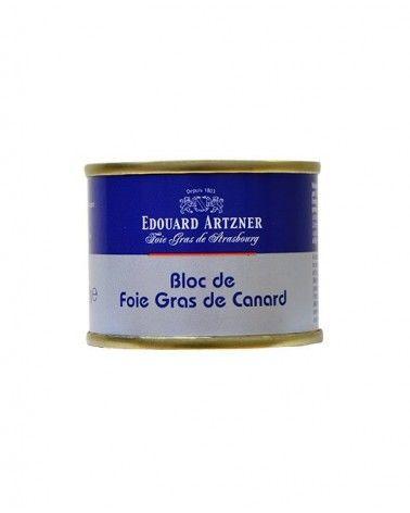 Bloc de foie gras de canard 65g Edouard