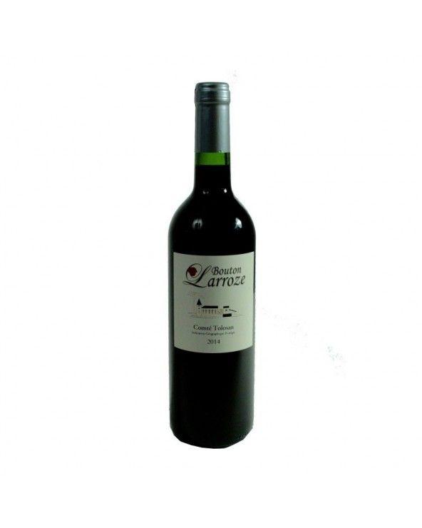 """Vin rouge """"Bouton Larroze"""" 37.5cl"""