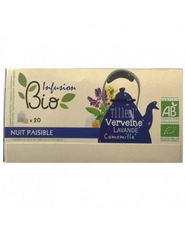Infusion BIO nuit paisible 30g