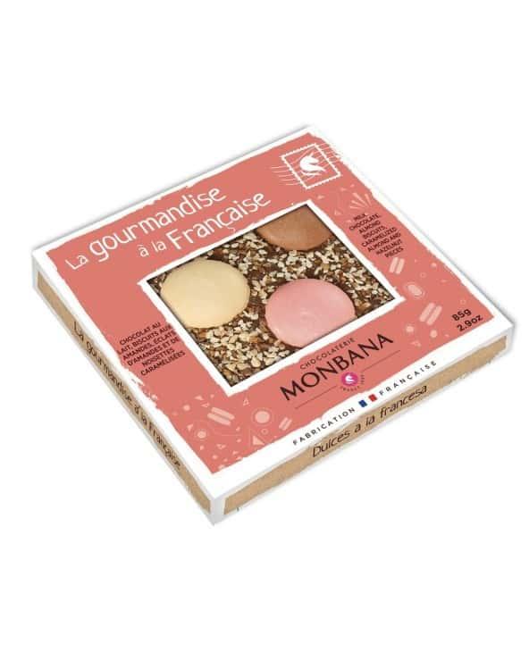 """Tablette chocolat """"La Gourmandise à la Française"""" 85g"""