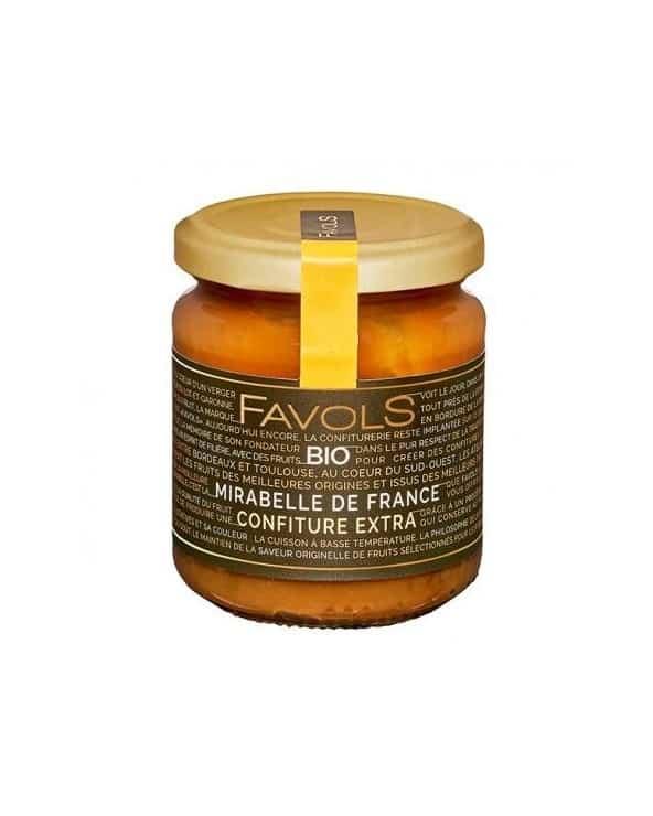 Confiture Mirabelle de France BIO 220g