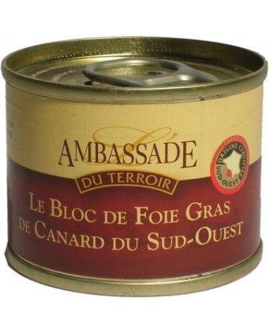 Bloc de foie gras de canard du Sud-Ouest IGP 65g