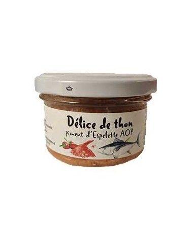 Délice de thon au piment d'espelette 90g