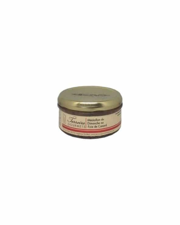 Médaillon du dimanche au foie de canard 20% foie gras 120g