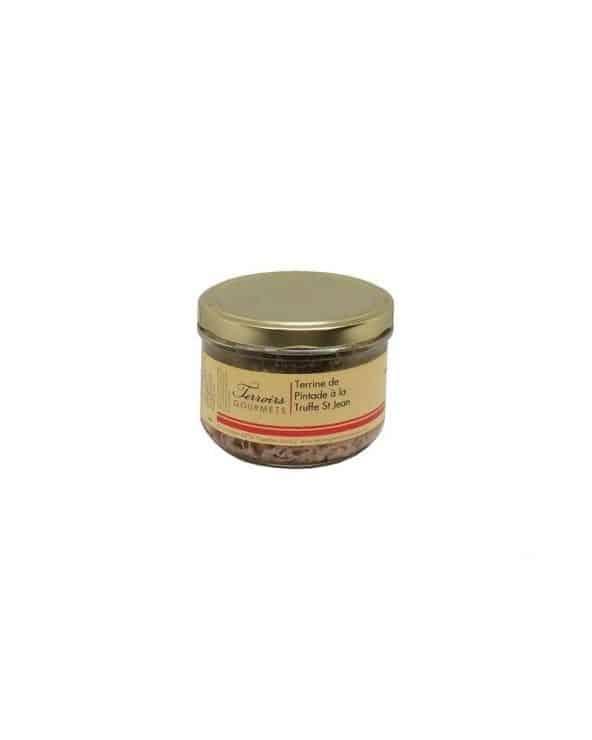 Terrine de pintade à la truffe de Saint Jean 180g