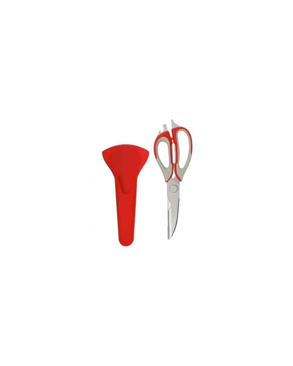 Ciseaux multi-usage 8 en 1 avec support aimanté