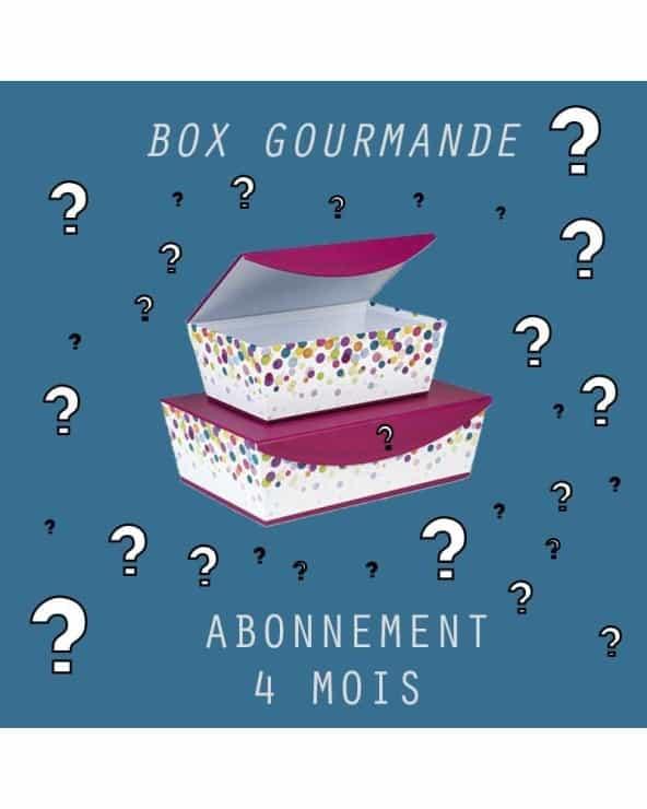 Abonnement Petite BOX Gourmande 4mois