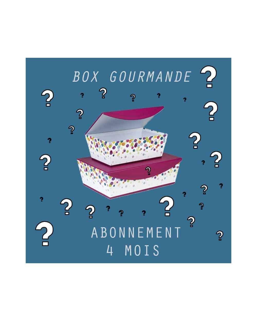 ABONNEMENT PETITE BOX GOURMANDE 4 mois