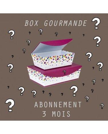 Abonnement Petite BOX Gourmande 3mois