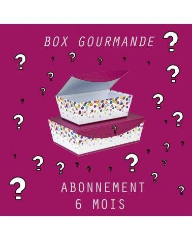 Abonnement Petite BOX Gourmande 6mois