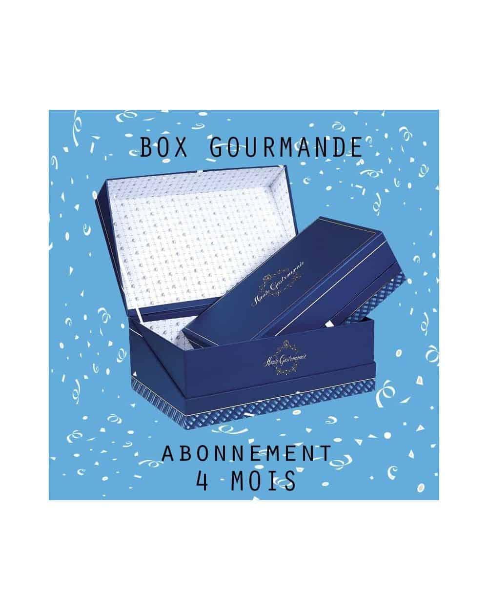 ABONNEMENT BOX GOURMANDE 50€