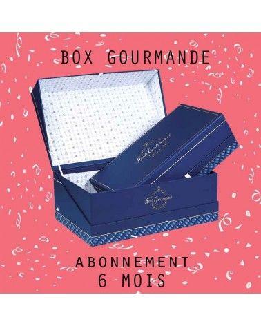 Abonnement Grande BOX Gourmande 6mois