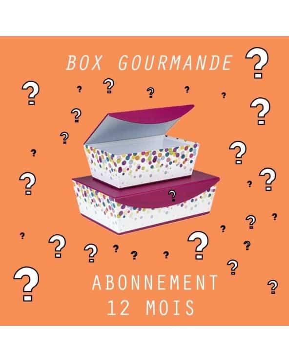 Abonnement Petite BOX Gourmande 12mois