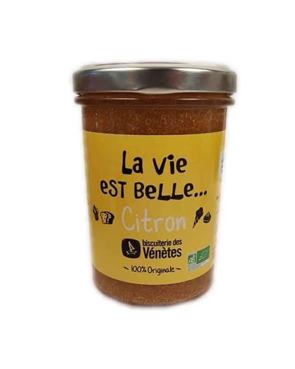 Pâte à tartiner La Vie est Belle... citron BIO 250g
