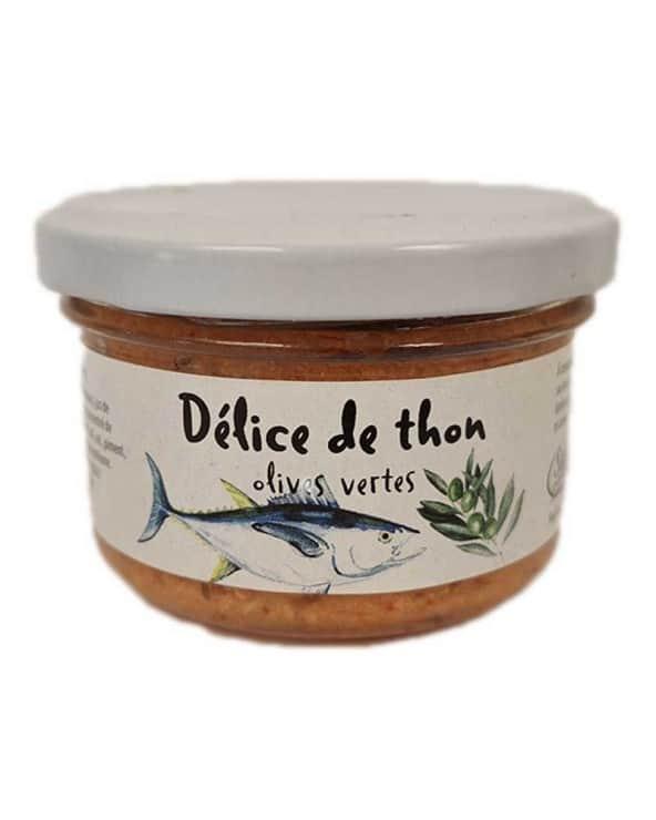 Délice de thon aux olives 90g
