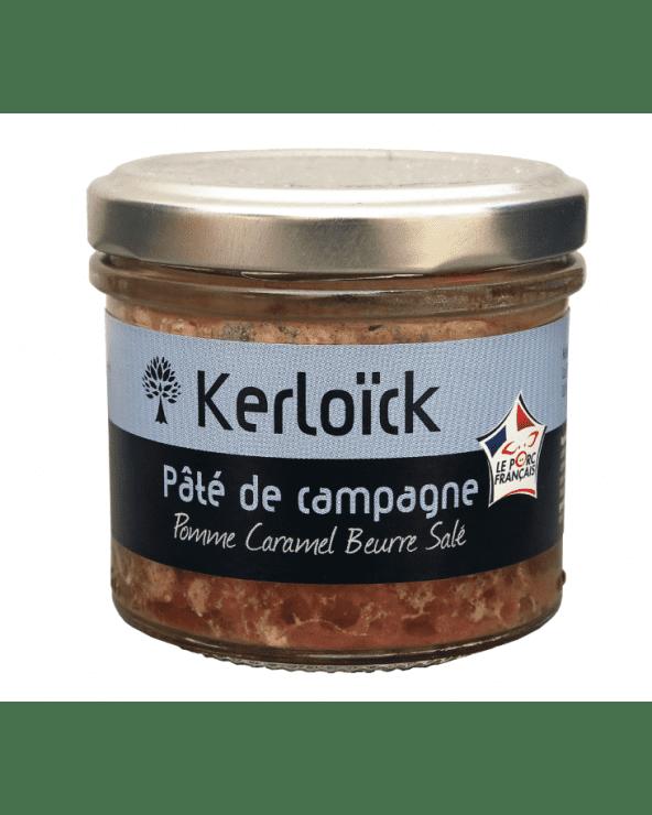 Pâté de campagne saveur pomme caramel beurre salé - 90g