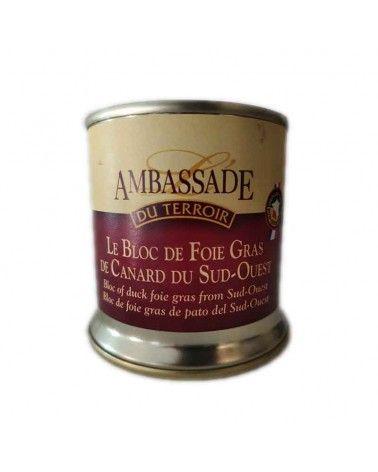 Bloc de Foie Gras de canard du Sud-Ouest 200g IGP