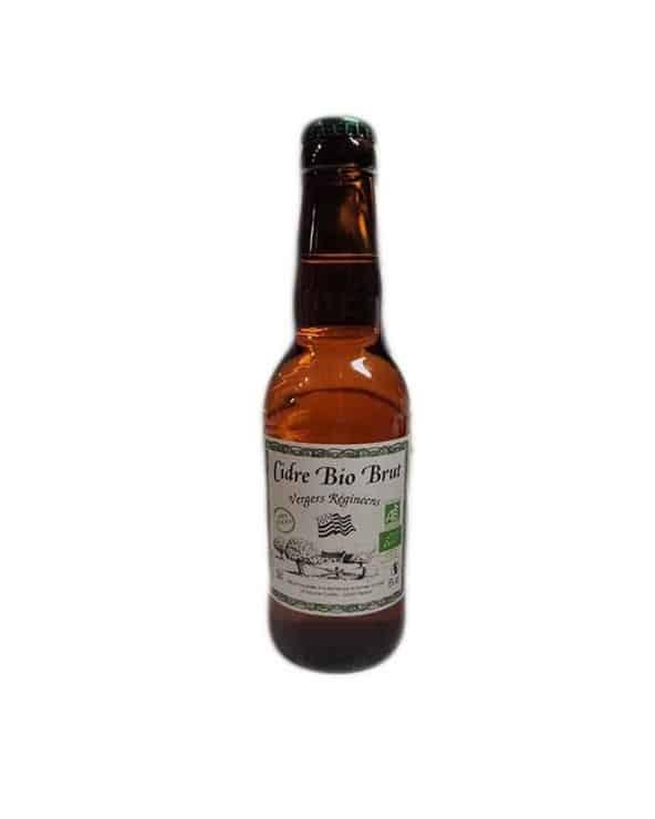 Cidre Bio Brut Vergers Réginéens Kerloick 33cl