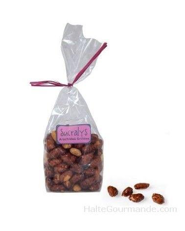 Sachet d'arachides grillées 100g