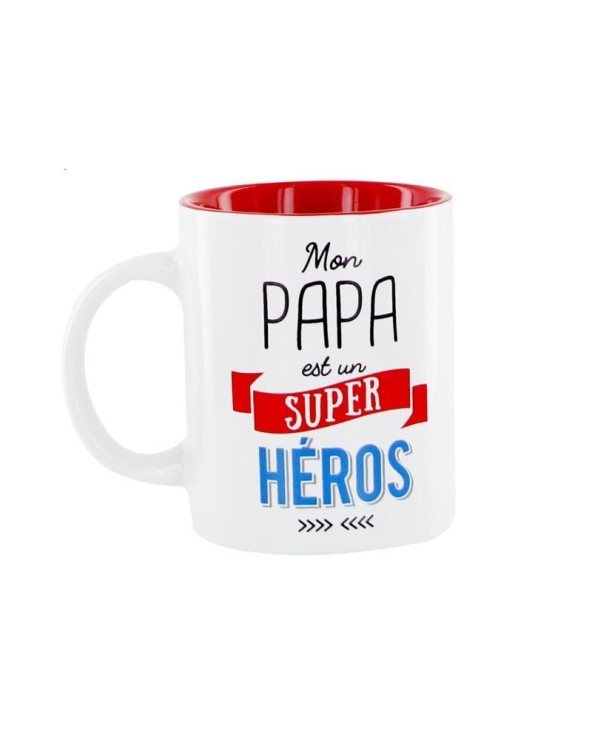 Mug Mon papa est un Super Héros