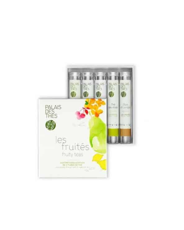 Coffret dégustation de 5 tubes de thé - Les Fruités