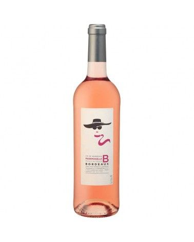 Vin Bordeaux Mademoiselle B Rosé 2015 AOC