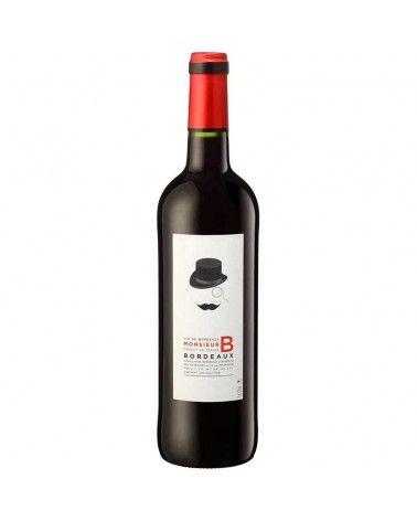 Vin Bordeaux Monsieur B Rouge 2015 AOC