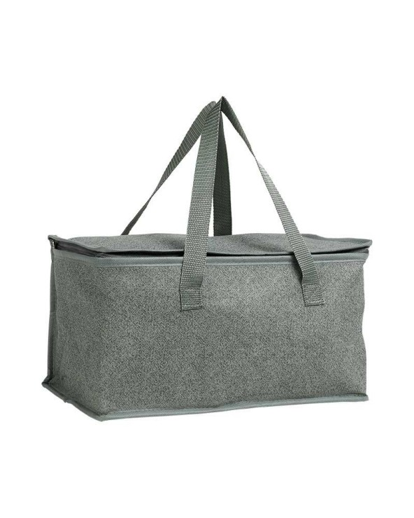 Sac isotherme gris avec 2 anses