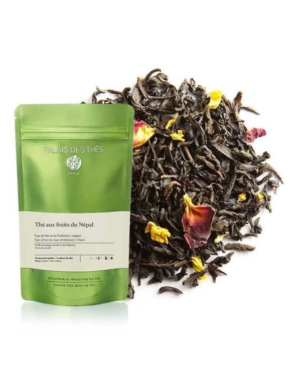 """Thé noir """"Aux fruits du Népal"""" 100g"""