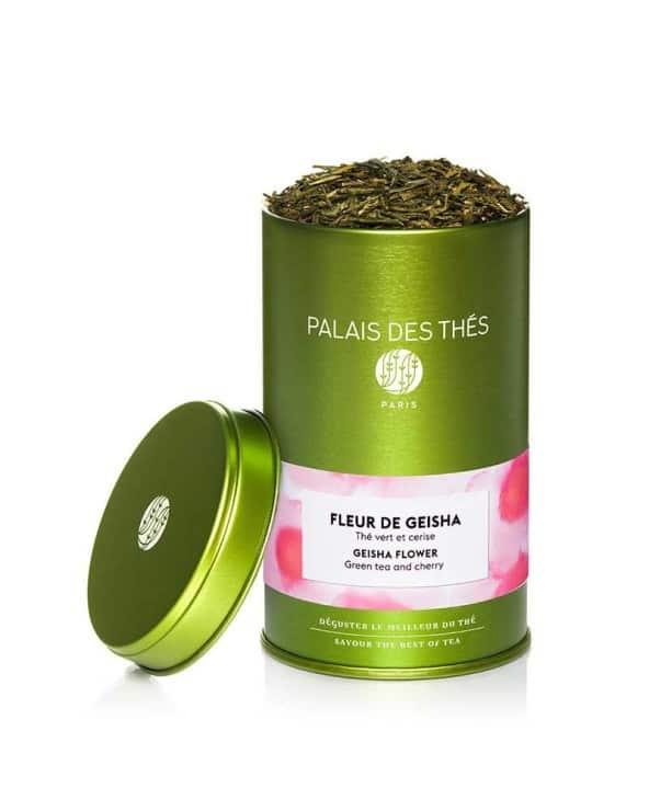 Boîte à thé Fleur de Geisha