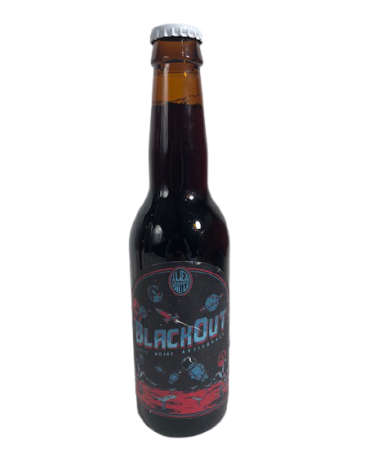 Blackout Bière noire artisanale