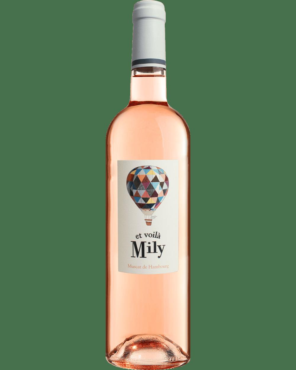 """Vin rosé """"Et voilà Mily"""""""
