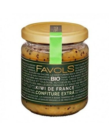 Confiture Kiwi de France Bio, 220g