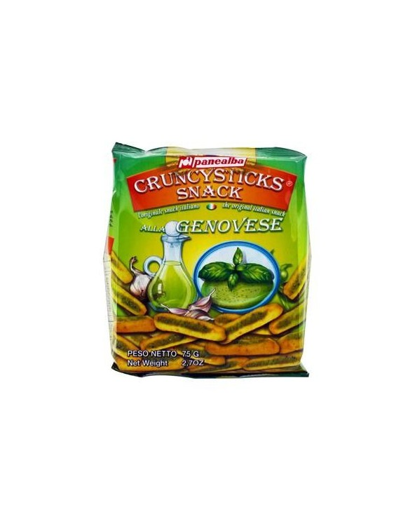 Grissini snack pesto genovese paquet 75g