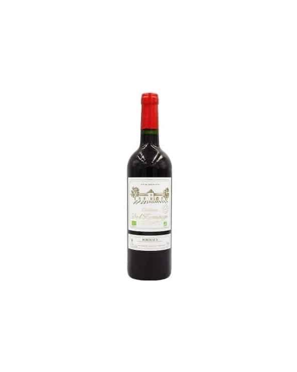Vin rouge Bordeaux Chateau de l'Hermitage BIO AOC 75cl