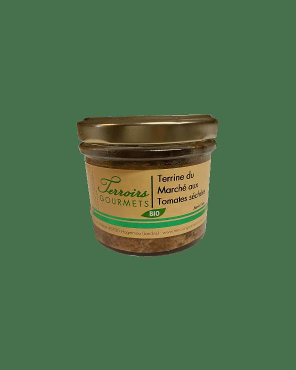 Terrine du Marché aux tomates séchées BIO 90g