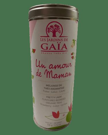 Thé Vert et Noir Un Amour de Maman Bio 100g