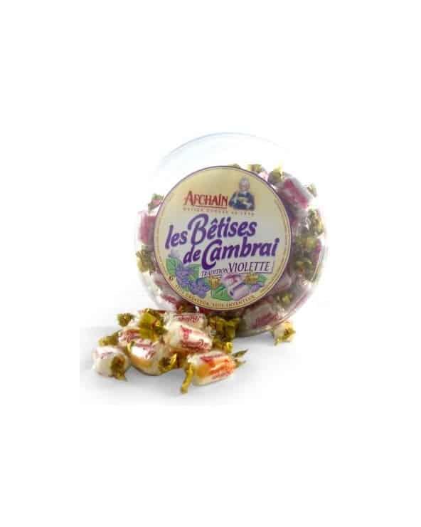 Tambourin de Bêtises de Cambrai à la violette 300g