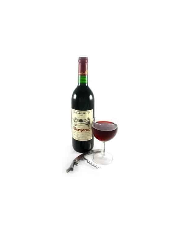 """Vin rouge Bergerac """"Clos Bellevue"""" 2008 75cl"""