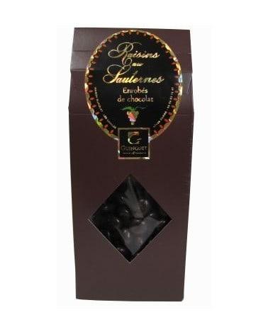 Raisins au Sauternes enrobés de chocolat 100g