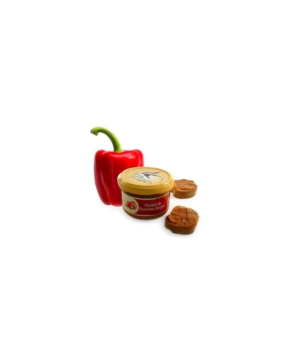 Délice de poivrons rouges 90g