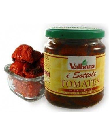 Tomates séchées à l'huile 210g