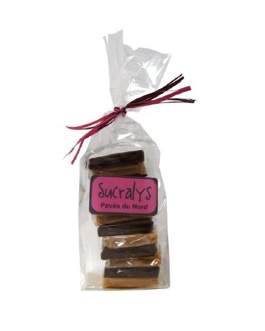 "12 caramels ""Pavés du Nord"" 200g"