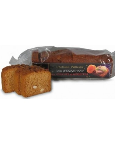 Toast de Pain d'épices Abricot Noisettes 120g